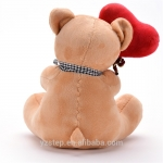 Plush Smile I LOVE YOU Teddy Bear With Heart for Lover's Gifts