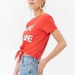 organic cotton girl t-shirt