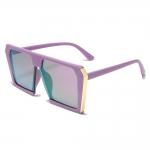 Round Metal Sunglasses for Men Women Mirrored Circle Sun Glasses Brand